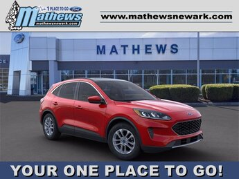2020 RAPID_RED Ford Escape SE SUV FWD Automatic 1.5 L 3-Cylinder Engine 4 Door