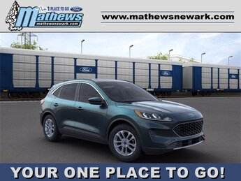 2020 DARK_PERSIAN_GREEN Ford Escape SE 4 Door SUV 1.5 L 3-Cylinder Engine FWD