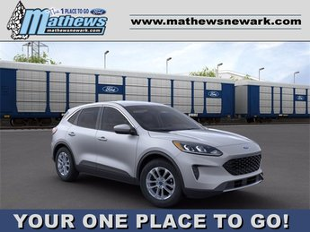 2020 Ingot Silver Metallic Ford Escape SE SUV Automatic FWD