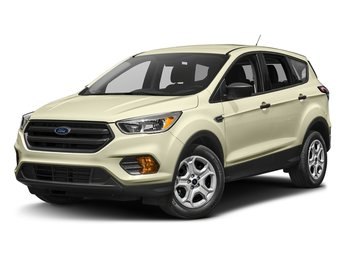 2017 White Gold Metallic Ford Escape SE SUV 1.5L 4-Cyl Engine FWD 4 Door