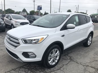 2019 WHITE Ford Escape SE SUV FWD Automatic 4 Door