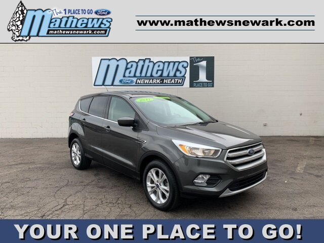 2017 MAGNETIC_GRAY Ford Escape SE FWD 1.5 L 4-Cylinder Engine SUV