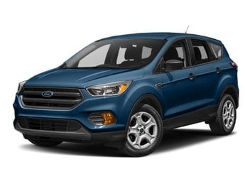 2019 Lightning Blue Metallic Ford Escape SE FWD Automatic 4 Door