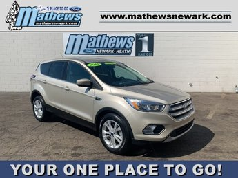 2017 White Gold Metallic Ford Escape SE 1.5 L 4-Cylinder Engine FWD Automatic 4 Door