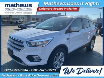 2019 Ford Escape SE Automatic FWD 1.5L EcoBoost Engine 4 Door SUV