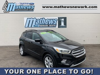 2017 SHADOW_BLACK Ford Escape SE SUV 4 Door 1.5 L 4-Cylinder Engine FWD Automatic