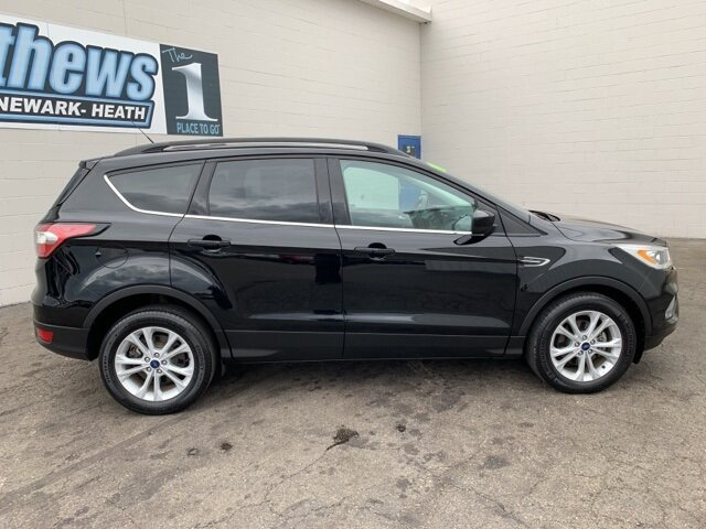 2017 SHADOW_BLACK Ford Escape SE SUV 4 Door Automatic