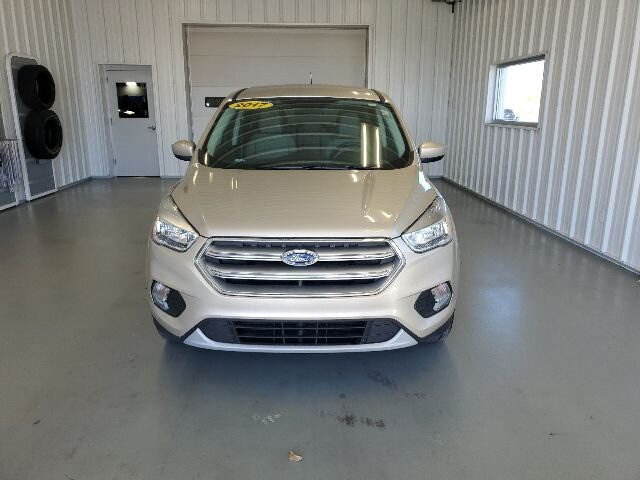 2017 White Gold Metallic Ford Escape SE SUV 4 Door Automatic FWD 1.5L 4-Cyl Engine