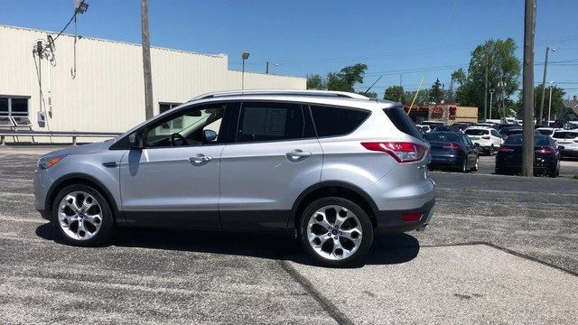 2015 Ingot Silver Ford Escape Titanium Automatic 1.6L 4-Cyl Engine 4 Door FWD SUV