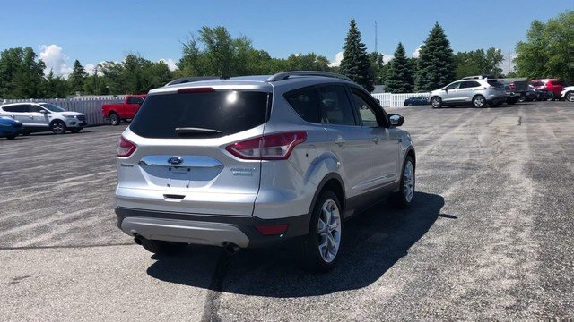 2015 Ingot Silver Ford Escape Titanium SUV 4 Door 1.6L 4-Cyl Engine FWD Automatic