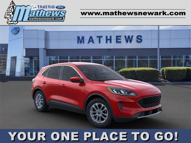 2020 Rapid Red Metallic Tinted Clearcoat Ford Escape SE Automatic 1.5L 4-Cylinder Engine 4X4 4 Door