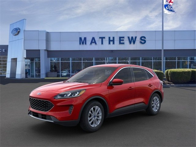 2020 Rapid Red Metallic Tinted Clearcoat Ford Escape SE 1.5L 4-Cylinder Engine 4X4 Automatic