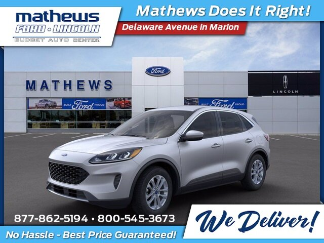 2020 Ingot Silver Metallic Ford Escape SE Automatic AWD 4 Door SUV