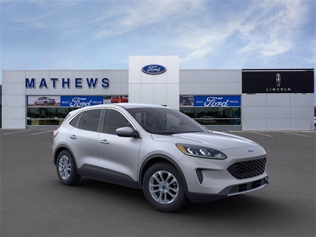 2020 Ingot Silver Metallic Ford Escape SE SUV Automatic 4 Door