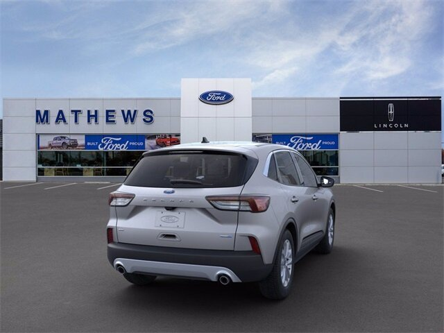 2020 Ingot Silver Metallic Ford Escape SE Automatic AWD 1.5L EcoBoost Engine
