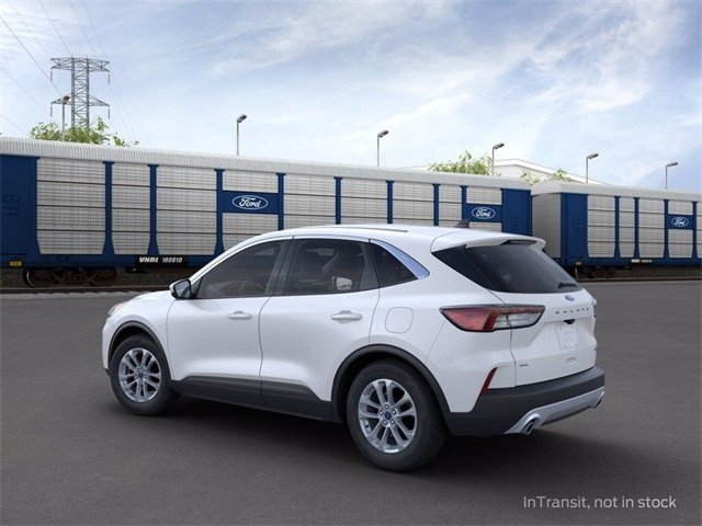2020 Star White Metallic Tri-Coat Ford Escape SE 4 Door Automatic SUV 4X4 1.5 L 3-Cylinder Engine