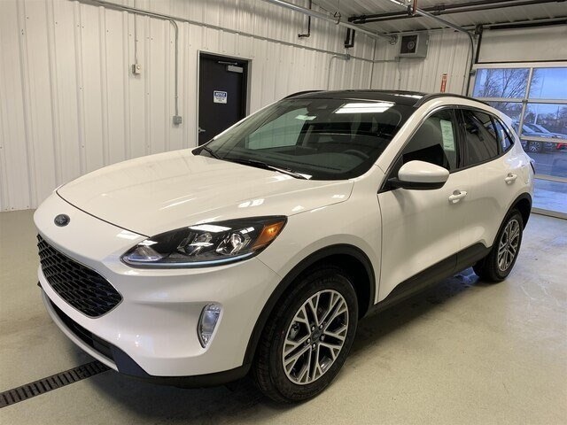 2020 Star White Metallic Tri-Coat Ford Escape SEL 2.0L 4 cyls Engine 4 Door SUV Automatic