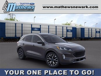 2020 Magnetic Metallic Ford Escape SEL 4X4 4 Door SUV Automatic