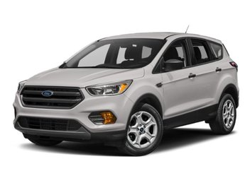 2019 White Platinum Metallic Tri-Coat Ford Escape SEL 4X4 SUV Automatic