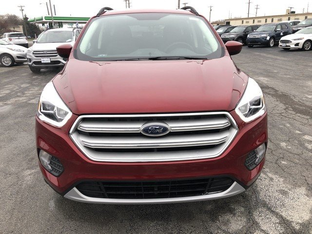 2019 Ruby Red Metallic Tinted Clearcoat Ford Escape SEL 4 Door Automatic SUV 4X4