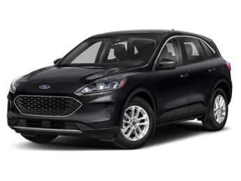 2020 Agate Black Metallic Ford Escape Titanium Automatic AWD SUV