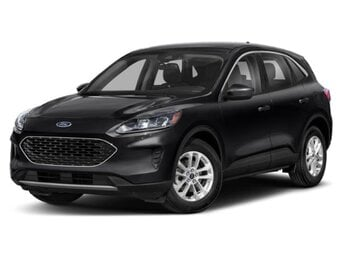 2020 Agate Black Metallic Ford Escape Titanium 4 Door Automatic 2.0 L 4-Cylinder Engine SUV AWD