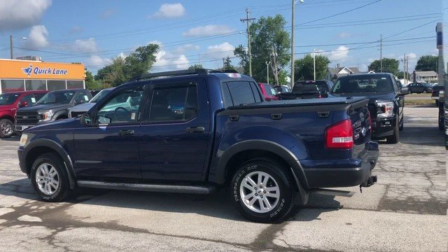 2008 Dark Blue Pearl Metallic Ford Explorer Sport Trac XLT 4.0L SOHC 12-Valve V6 Engine Truck Automatic