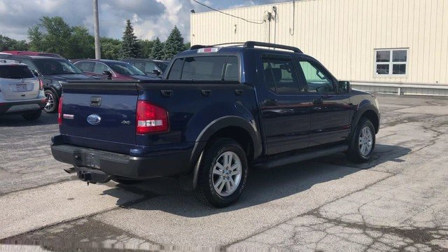 2008 Dark Blue Pearl Metallic Ford Explorer Sport Trac XLT Automatic 4X4 4 Door Truck