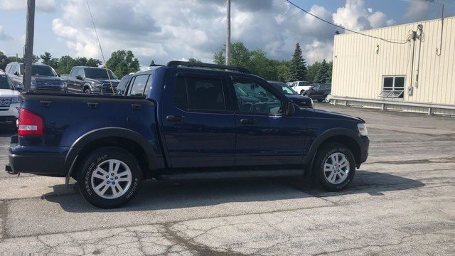 2008 Dark Blue Pearl Metallic Ford Explorer Sport Trac XLT Automatic Truck 4X4