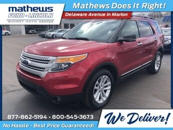 2012 Ford Explorer XLT SUV Automatic 4 Door