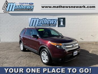 2011 Maroon Ford Explorer XLT 4 Door SUV 3.5L 6-Cylinder Engine 4X4 Automatic
