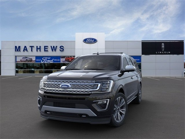 2020 Agate Black Ford Expedition Max Platinum SUV 4X4 Automatic