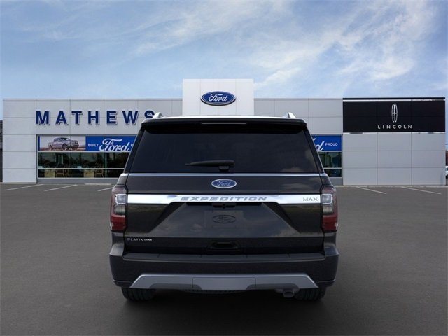 2020 Agate Black Ford Expedition Max Platinum 4 Door EcoBoost 3.5L V6 GTDi DOHC 24V Twin Turbocharged Engine 4X4 SUV
