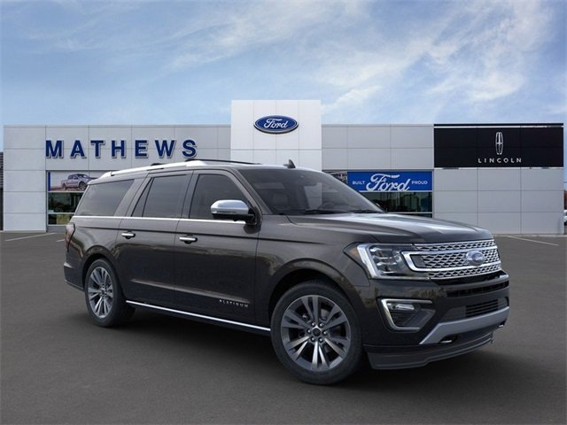 2020 Agate Black Ford Expedition Max Platinum SUV Automatic 4 Door