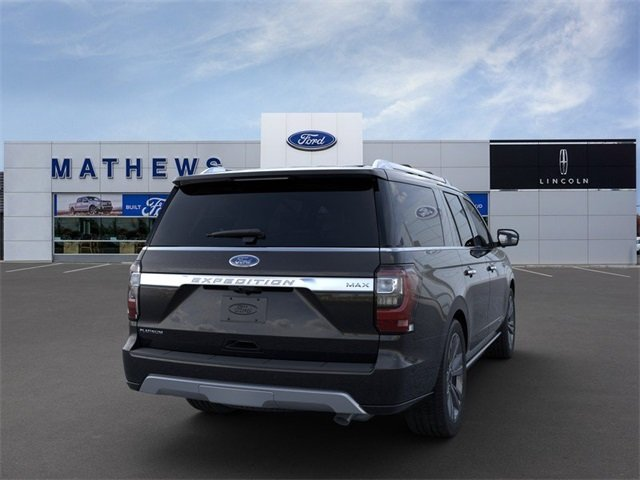 2020 Ford Expedition Max Platinum 4X4 4 Door SUV Automatic EcoBoost 3.5L V6 GTDi DOHC 24V Twin Turbocharged Engine