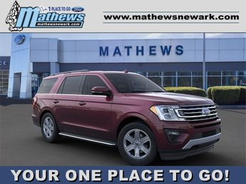 2020 Burgundy Velvet Metallic Tinted Clearcoat Ford Expedition XLT SUV 3.5L 6-Cylinder Engine 4X4 4 Door Automatic