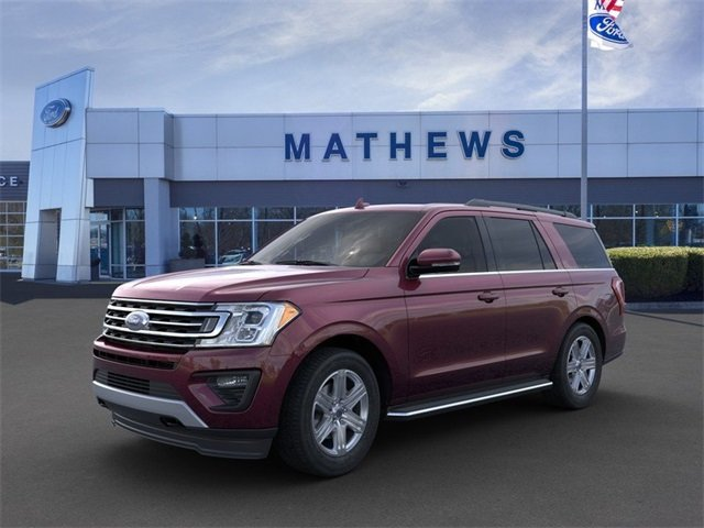 2020 Burgundy Velvet Metallic Tinted Clearcoat Ford Expedition XLT 4 Door Automatic SUV 3.5L 6-Cylinder Engine 4X4