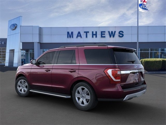 2020 Burgundy Velvet Metallic Tinted Clearcoat Ford Expedition XLT 3.5L 6-Cylinder Engine 4X4 SUV