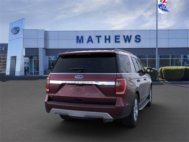 2020 Burgundy Velvet Metallic Tinted Clearcoat Ford Expedition XLT 4X4 4 Door Automatic SUV 3.5L 6-Cylinder Engine