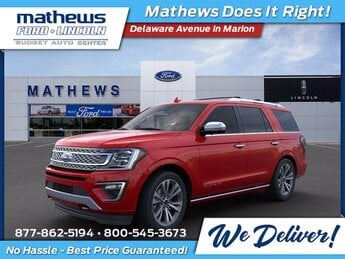 2020 Ford Expedition Platinum 4X4 Automatic SUV 4 Door