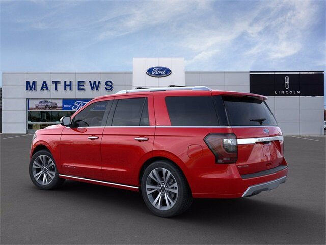 2020 Rapid Red Metallic Tinted Clearcoat Ford Expedition Platinum Automatic 4 Door SUV 4X4
