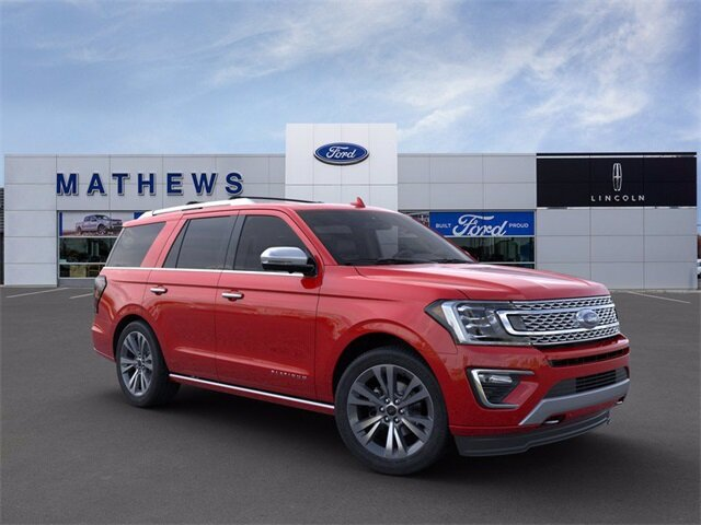 2020 Ford Expedition Platinum SUV 4X4 Automatic EcoBoost 3.5L V6 GTDi DOHC 24V Twin Turbocharged Engine