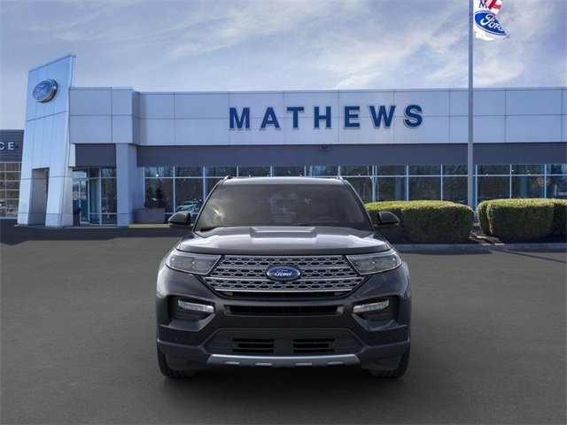 2020 Agate Black Metallic Ford Explorer Limited 4 Door 2.3L 4-Cylinder Engine RWD SUV