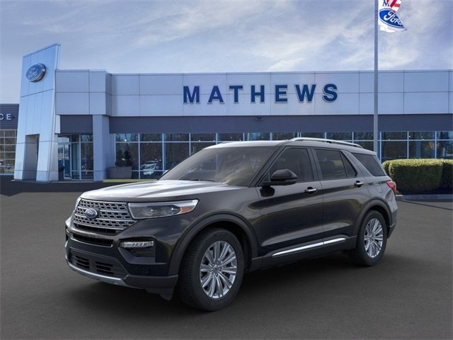 2020 Agate Black Metallic Ford Explorer Limited Automatic RWD SUV 4 Door 2.3L 4-Cylinder Engine