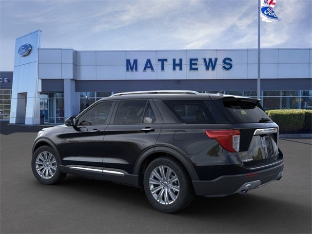 2020 Ford Explorer Limited 4 Door 2.3L 4-Cylinder Engine Automatic SUV RWD