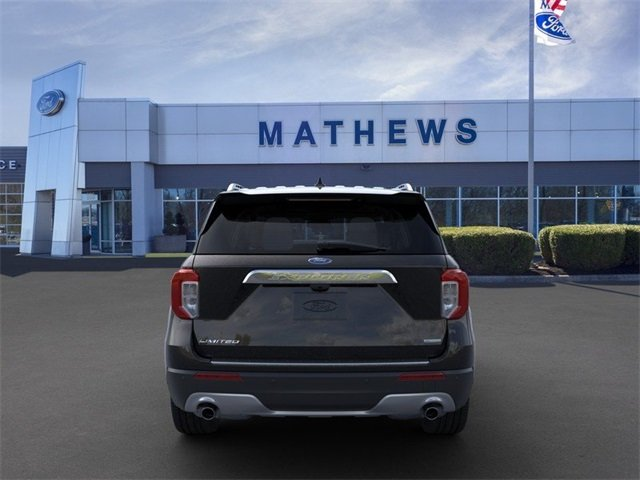 2020 Agate Black Metallic Ford Explorer Limited RWD SUV 2.3L 4-Cylinder Engine 4 Door