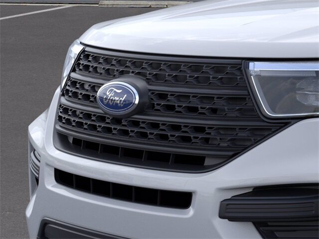2021 Ford Explorer Base 4X4 SUV Automatic 4 Door EcoBoost 2.3L I4 GTDi DOHC Turbocharged VCT Engine