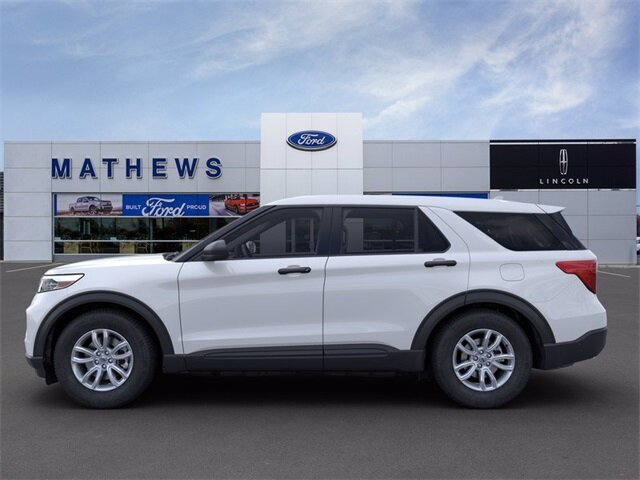 2021 Ford Explorer Base 4 Door SUV Automatic 4X4 EcoBoost 2.3L I4 GTDi DOHC Turbocharged VCT Engine