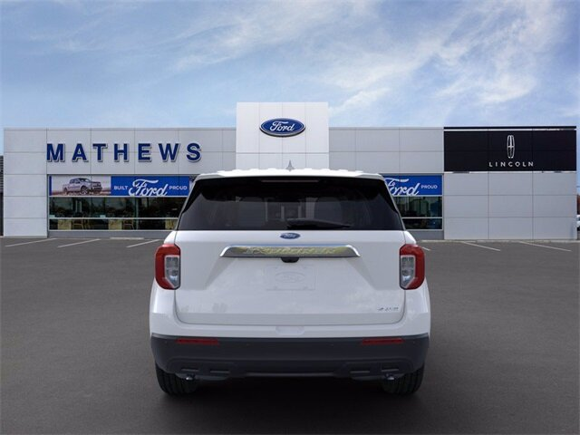 2021 Ford Explorer Base SUV 4X4 EcoBoost 2.3L I4 GTDi DOHC Turbocharged VCT Engine Automatic