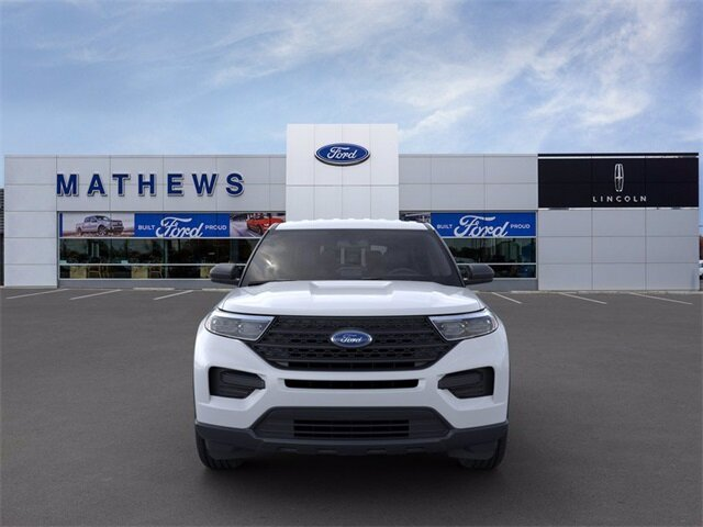 2021 Oxford White Ford Explorer Base Automatic 4 Door 4X4 SUV